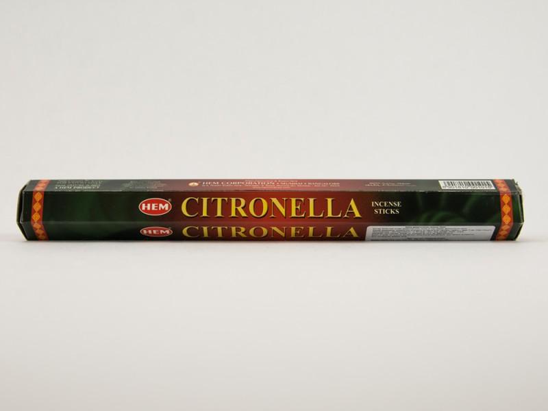 Аромапалочки HEM Citronella цитрусовая смесь Хем