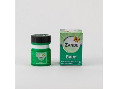 Аюрведический бальзам Занду Zandu Balm 8 мл зеленый