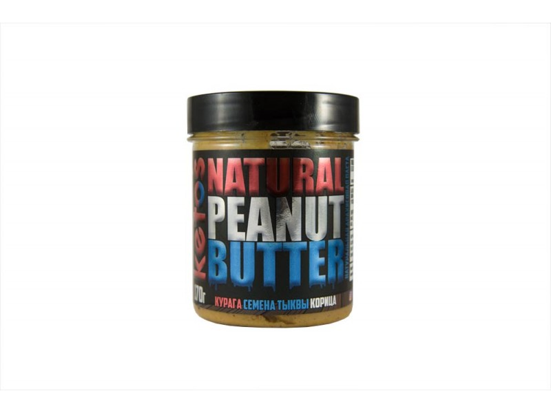 Арахисовая паста Natural Peanut Butter VITAMIN 170 г Кетос