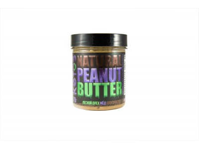 Арахисовая паста Natural Peanut Butter FOREST 170 г Кетос