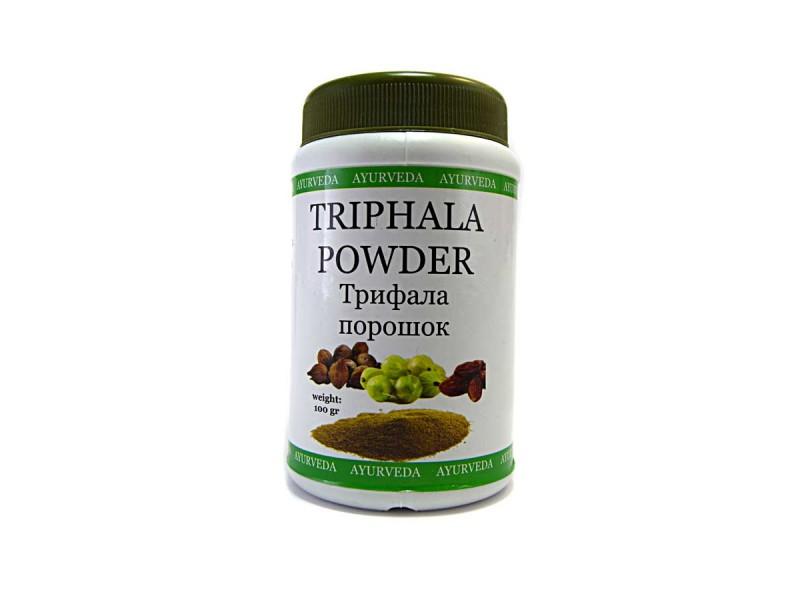 Порошок трифала Triphala powder 100г Ayurveda