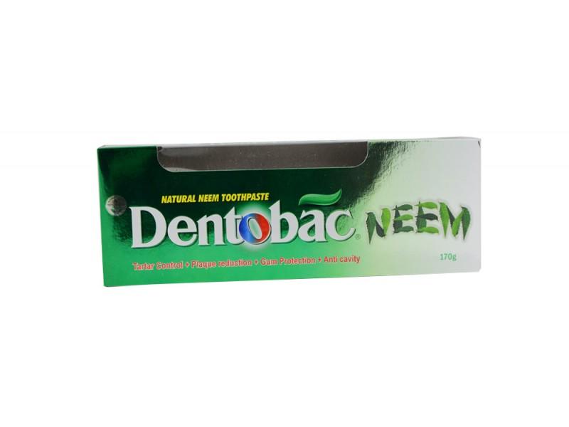 Зубная паста с Нимом и зубной щеткой 170 г Dentobac Neem