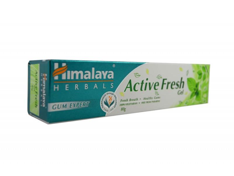 Зубная паста хималая Active Fresh gel 80 г Himalaya