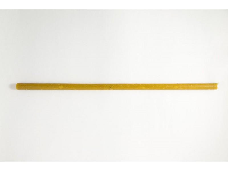 Свеча средняя восковая цветная 30 см