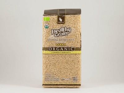 Рис коричневый тайский органический Жасмин 1кг Sawat-D
