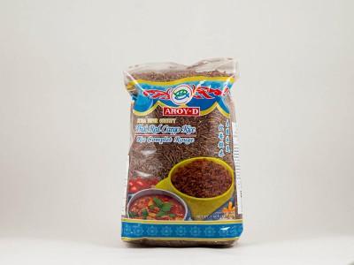 Рис красный шелушеный тайский 1 кг AROY-D