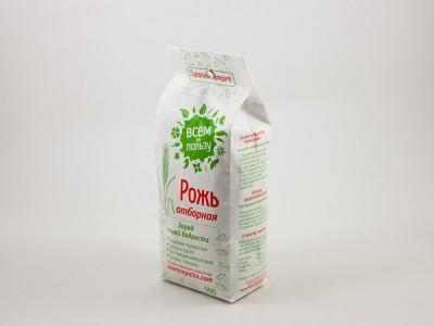Зерно рожь отборная 500 г Здравое зерно