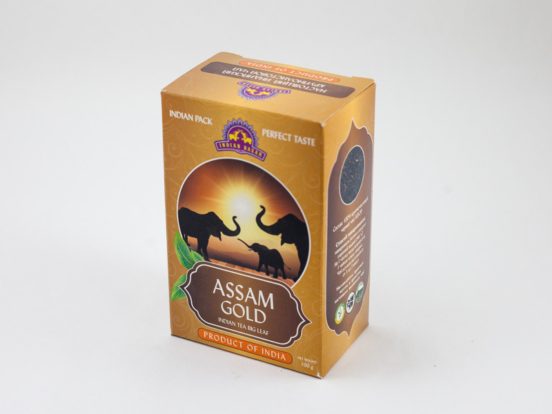 Чай Ассам Голд 100г INDIAN BAZAR коробка