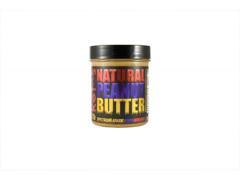 Арахисовая паста Natural Peanut Butter CANDY 170 г Кетос