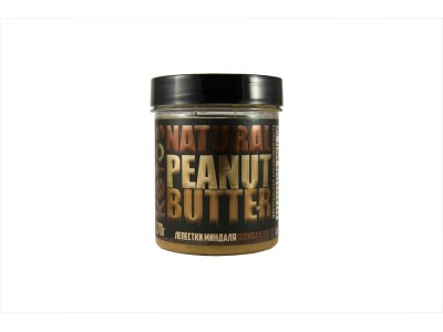 Арахисовая паста Natural Peanut Butter CHOCO ALMOND 170 г Кетос