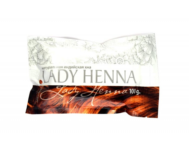 Хна натуральная коричневая 100 г Леди Хенна