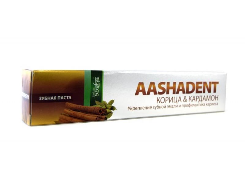 Зубная паста Корица кардамон 100г Ааша