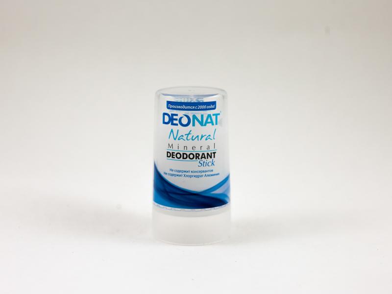 Дезодорант кристалл Деонат цельный стик 40г без добавок Deonat