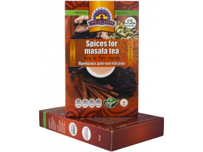 Приправа для чая масала 50 г INDIAN BAZAR коробка