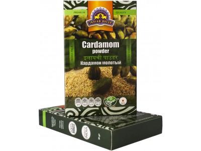 Кардамон молотый 50 г INDIAN BAZAR коробка