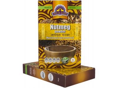 Мускатный орех молотый 50гр  INDIAN BAZAR коробка